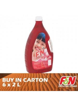 F&N Rose Syrup 6 x 2L