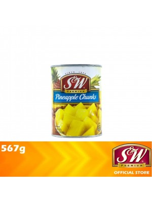 S&W Pineapple Chunks 567g