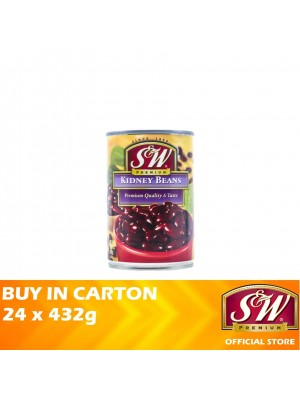 S&W Red Kidney Beans 24 x 432g
