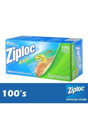 Ziploc Sandwich Value-Pack 100's
