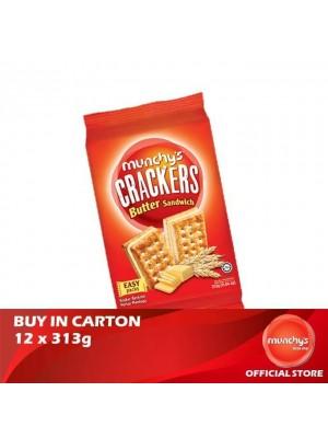 Munchy's Crackers Sandwish Butter Flavoured Cream 12x313g