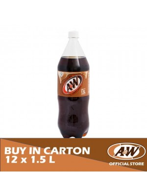 A&W Sarsaparilla PET 12 x 1.5L