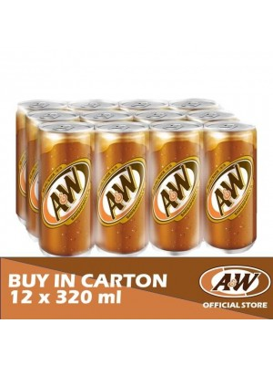 A&W Sarsaparilla 12 x 320ml