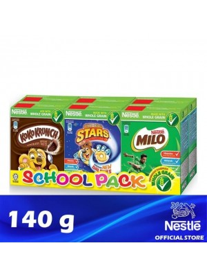 Nestle School Pack Breakfast Cereal (6 boxes of 140g) {EXP : 04/2022} [MUST BUY]