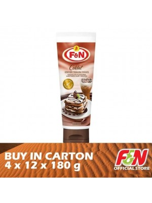 F&N Sweetened Condensed Choc Tube Milk 4 x 12 x 180g