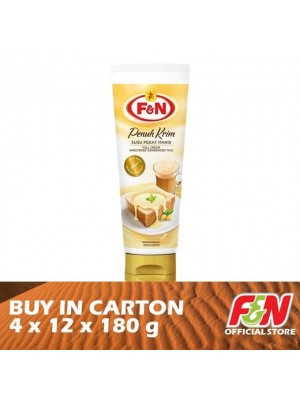 F&N Sweetened Condensed Tube Milk 4 x 12 x 180g