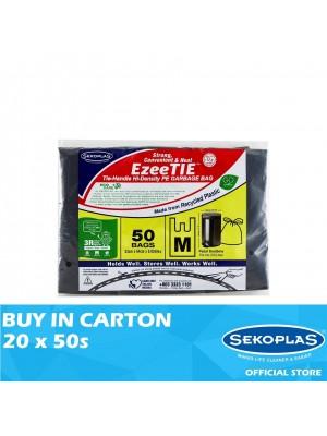 Sekoplas EzeeTIE HDPE Garbage Bag 20 x 50s