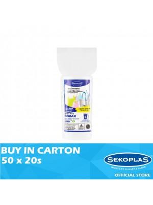 Sekoplas Remax HDPE Garbage Bag Mini Roll Small 50 x 20s