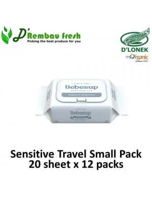 Sensitive Travel Small Pack 20's x 12