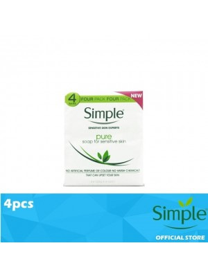 Simple Pure Soap Pack of 4 [MUST BUY]