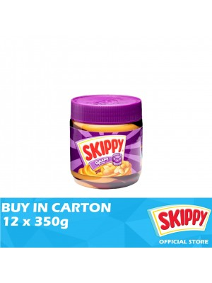 Skippy Peanut Butter Grape Stripes 12 x 350g