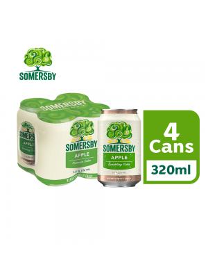 3C. Somersby Apple Cider Can 4 x 320ml