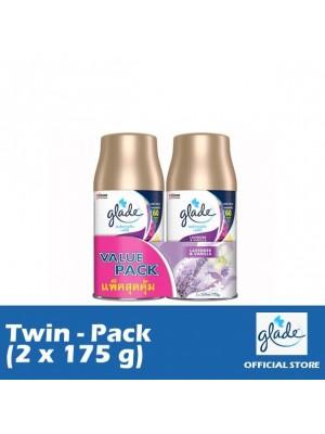 Glade Auto Spray Lavender & Vanilla Refill (Twin-Pack 2 x 175g)
