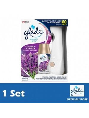 Glade Auto Spray Lavender & Vanilla Starter 4 Set