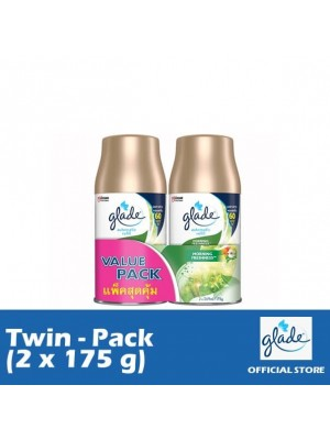 Glade Auto Spray Morning Freshness Refill (Twin-Pack 2 x 175g)