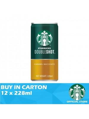 Starbucks Double Shot Caramel Macchiato 12 x 228ml