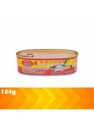 Sun J Spicy Fried Dace With Salted Black Bean 184g [MUST BUY]