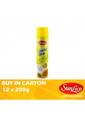 Sunlico Cooking Spray 12 x 200gm