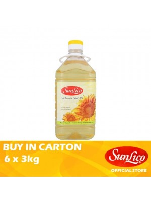 Sunlico Sunflower Seed Oil 6 x 3kg