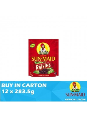 Sunmaid USA Raisins Zipper Bag 12 x 283.5g