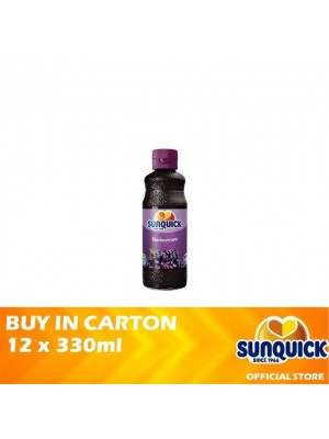Sunquick Blackcurrant 12 x 330ml
