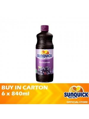 Sunquick Blackcurrant Jumbo 6 x 840ml
