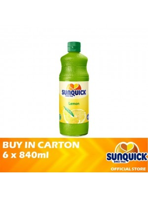 Sunquick Lemon Jumbo 6 x 840ml
