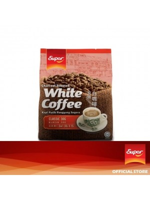 Super Charcoal Roasted White Coffee 3 in 1 - Classic 15 x 30g