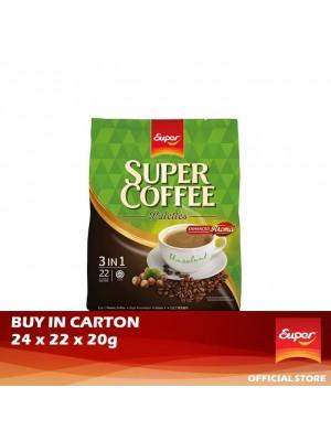 Super Coffee 3 in 1 - Hazelnut 24 x 22 x 20g