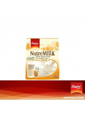 Super NutreMill - Instant Soymilk Powder No Sugar Added 15 x 30g