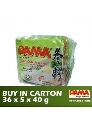 Pama Instant Tang Hoon Clear Soup Flavour 36 x 5 x 40g