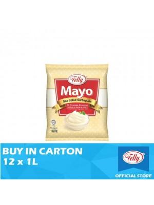 Telly Mayo All Purpose Dressing 12 x 1L