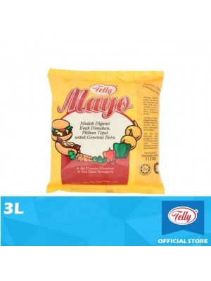 Telly Mayo All Purpose Dressing 3L