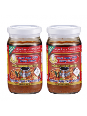 Thai Boy Brand Tom Yam Instant Paste ( Extra 55% ) 2x227g