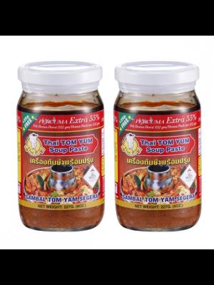 Thai Boy Brand Tom Yam Instant Paste ( Extra 55% ) 2 x 227g [Essential]