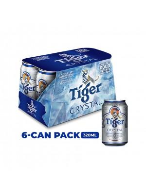 Tiger Crystal Beer 6 x 320ml