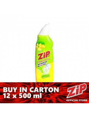 Zip Toilet Bowl Cleaner - Lemon 12 x 500ml
