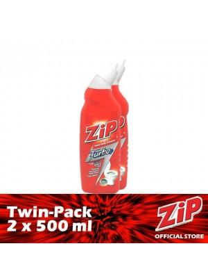 Zip Toilet Bowl Cleaner - Turbo Plus (Twin-Pack 2 x 500ml)