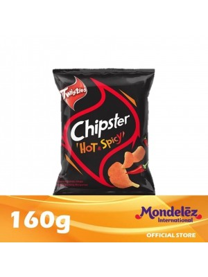 Twisties Chipster Hot & Spicy 160g [Essential]
