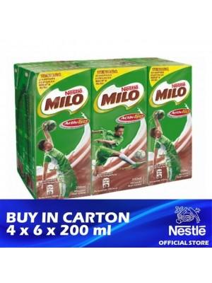 Nestle MIlo Activ-Go UHT 4 x 6 x 200ml