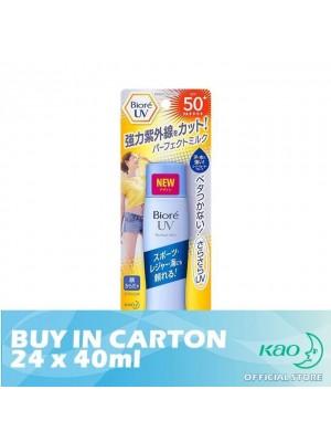Biore UV Perfect Milk SPF50 PA++++ 24 x 40ml