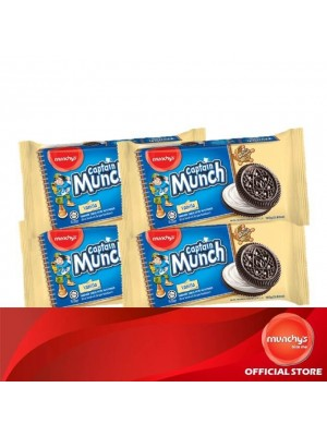 Munchy's Captain Munch Vanilla Cream 4x165g