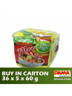 Pama Instant Vegetarian Mee Tom Yam Flavour 36 x 5 x 60g