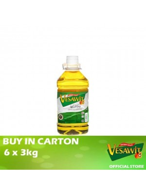 Vesawit Cooking Oil 6 x 3kg