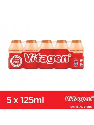 Vitagen Orange Flavour 5 x 125 ml