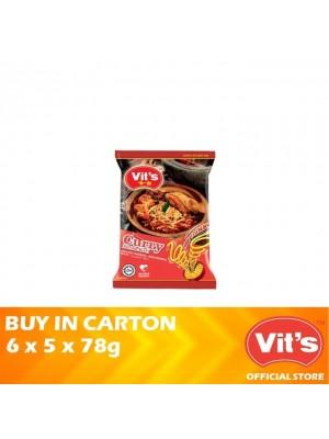 Vits Curry Instant Noodles 6 x 5 x 78g
