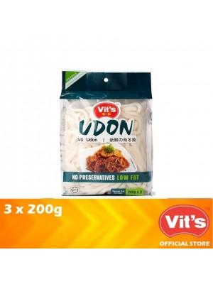 Vits Fresh Udon (3 x 200g) 600g [Essential]