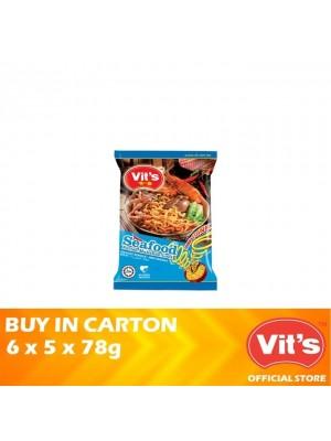 Vits Seafood Instant Noodles 6 x 5 x 78g