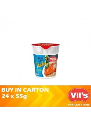 Vits Spicy Bihun Ketam Soup 24 x 55g