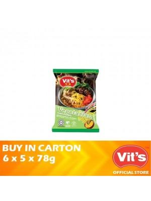 Vits Vegetarian Instant Noodles 6 x 5 x 78g